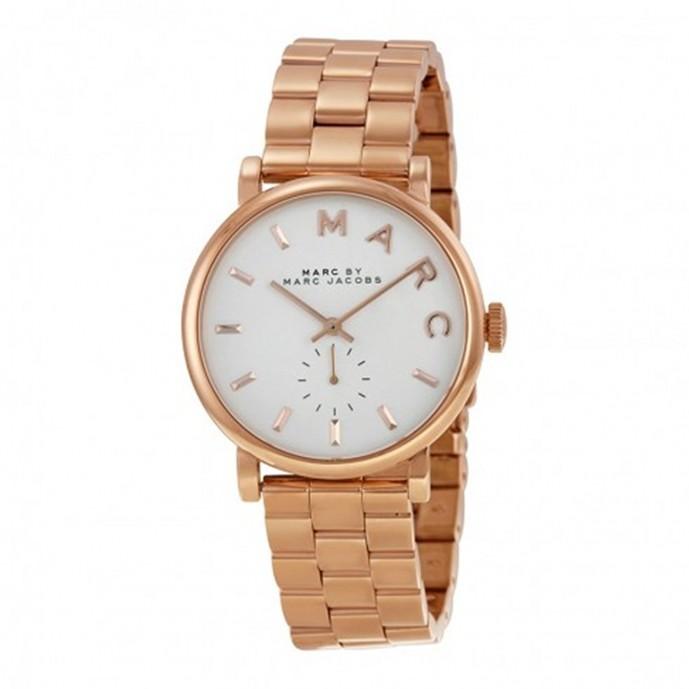 ペアウォッチにオススメなマークバイマークジェイコブスの白文字盤腕時計