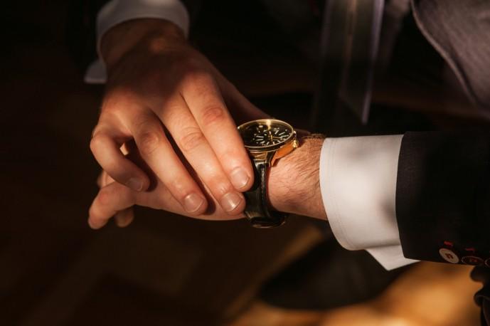 おしゃれなビジネス時計
