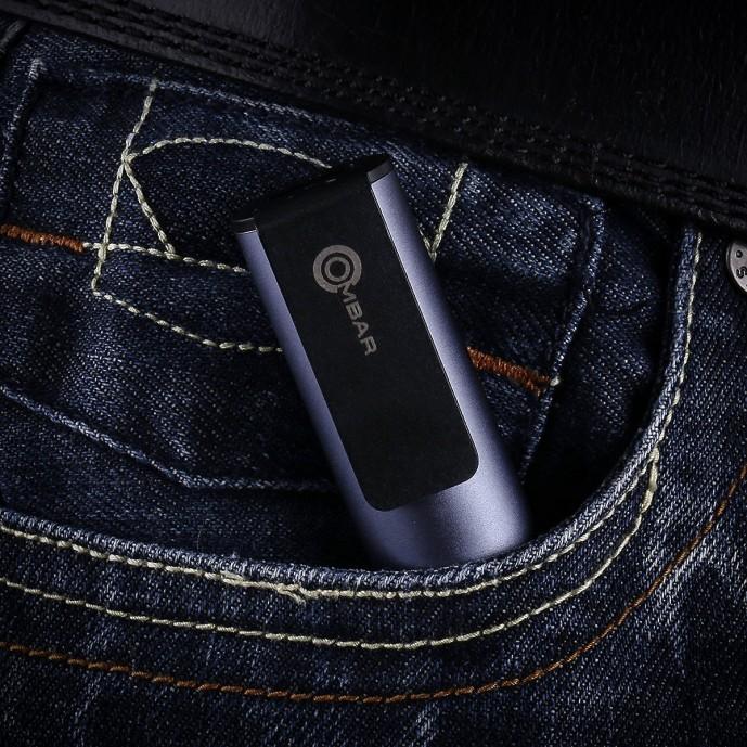 クリップ式小型モバイルバッテリー