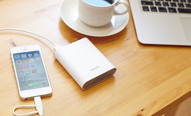 チーロのおすすめモバイルバッテリー