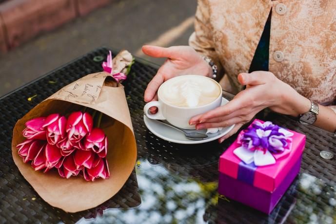 花束だけのプレゼントはナシ