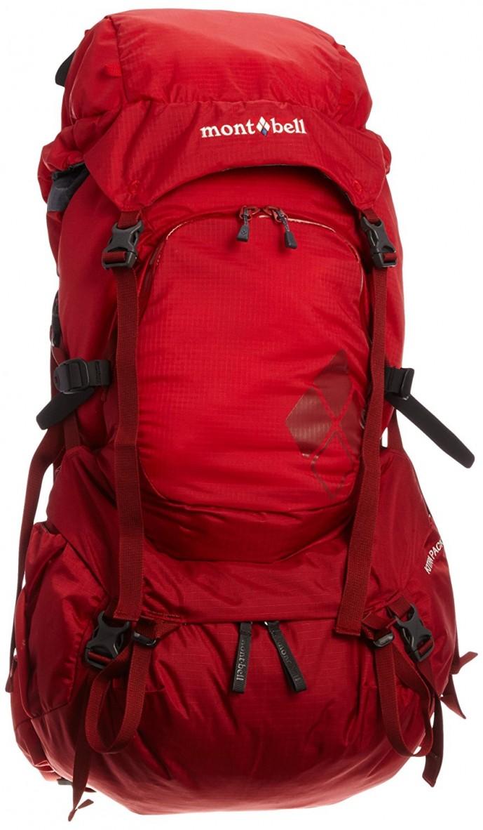 モンベルのおすすめ旅行用バックパック