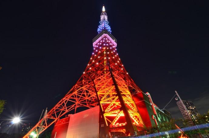 クリスマスに東京タワーデート