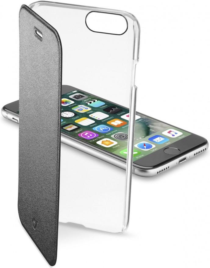 クリアタイプの手帳型iPhone7ケース