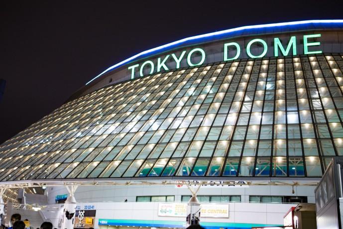 東京ドームで野球デート