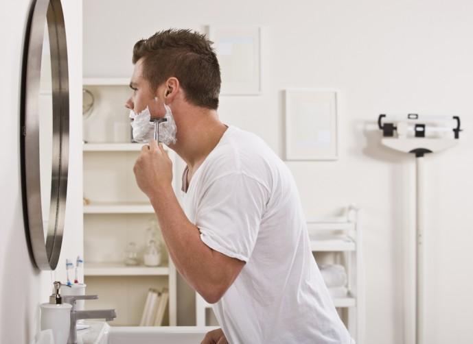 男の濃い髭を薄くする方法
