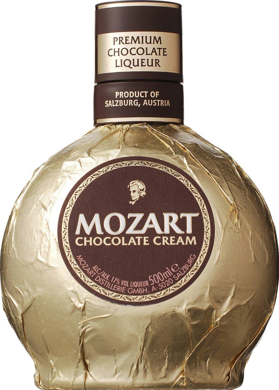 おしゃれなお酒ボトルモーツァルト