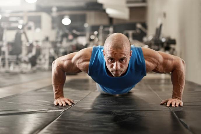 膝つき腕立て伏せの効果的なやり方