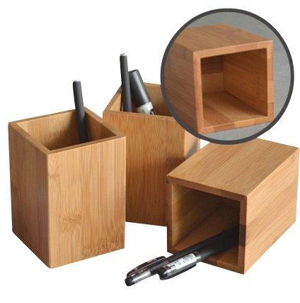木製のペンスタンド