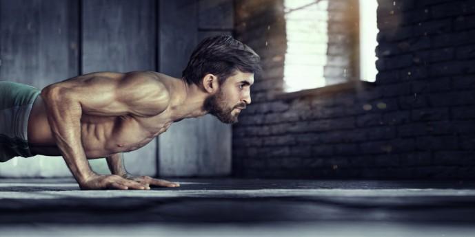 膝つき腕立て伏せで筋肉痛を引き起こす効果的なやり方