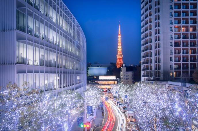 六本木クリスマスデート