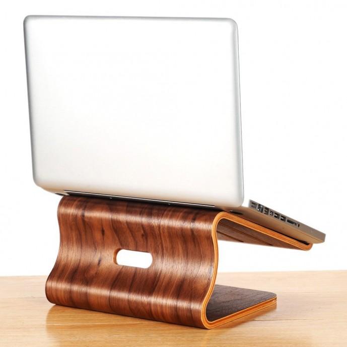 木製のおすすめノートパソコン冷却台