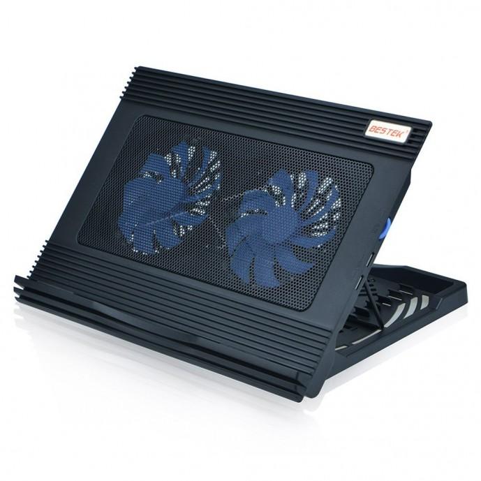 ベステックの傾斜付きおすすめノートパソコン冷却台