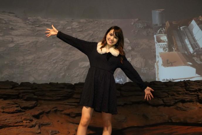 火星の上の小田恵