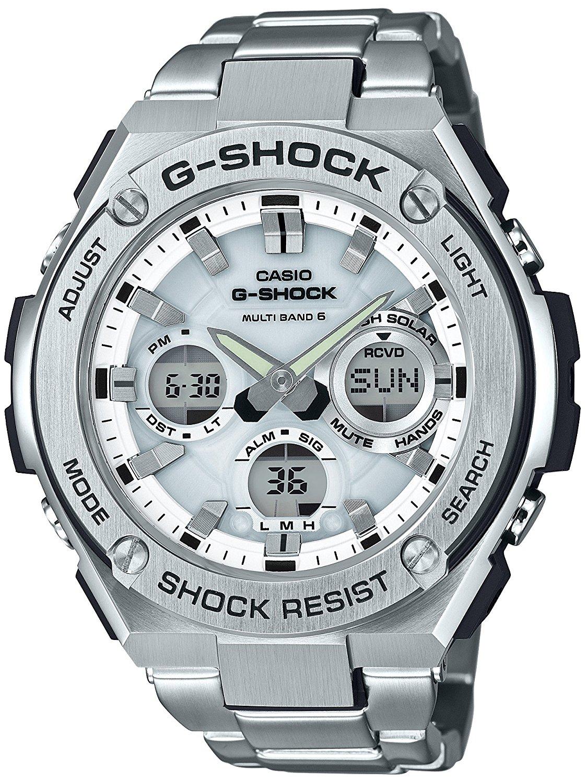 G-SHOCKの電波ソーラーアナログジースティール