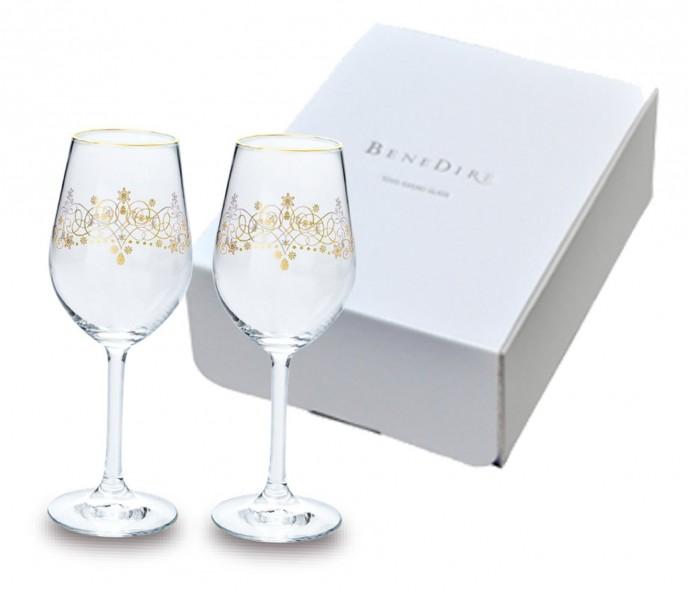 予算5000円で彼女のクリスマスプレゼントに贈るペネディーレのワイングラスセット