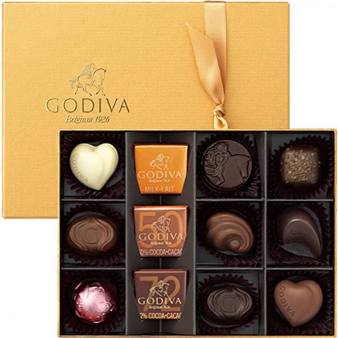 母の日に贈りたいチョコレートはゴディバ