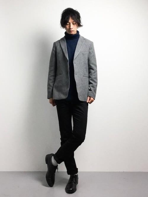 メンズにおすすめな冬服コーディネート