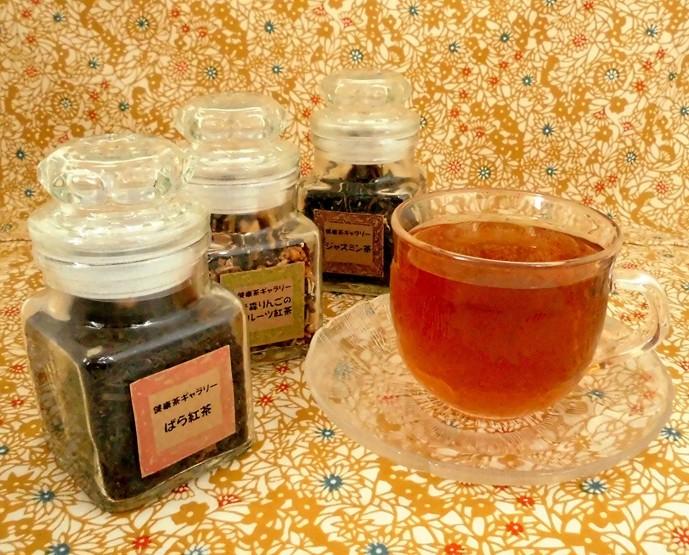 ホワイトデーのお返しにお茶瓶の三種の紅茶ギフト