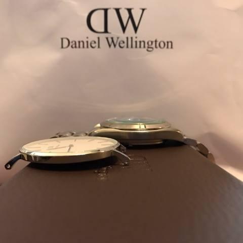 薄い&軽いを兼ね備えるダニエルウェリントンの腕時計