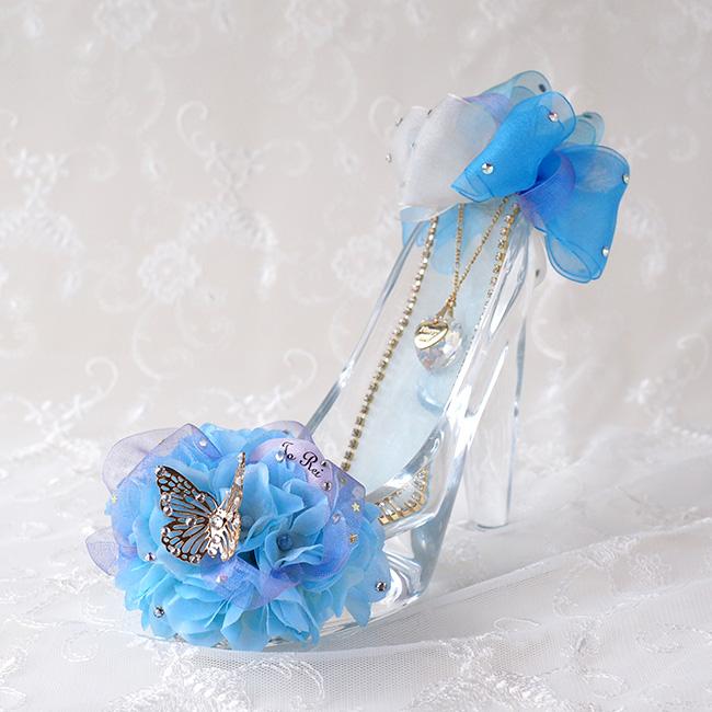 妻へのホワイトデーのお返しにメリアルームのガラスの靴