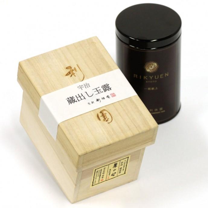 母の日のプレゼントしたいお茶ギフトは京都利休園の玉露