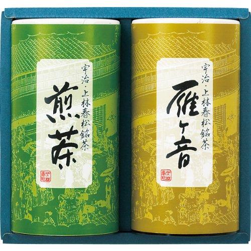 母の日のプレゼントしたいお茶ギフトは上林春松本店の煎茶のセット