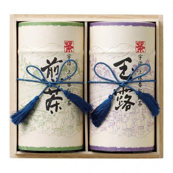 母の日のプレゼントしたいお茶ギフトは上林春松本店の煎茶と玉露セット