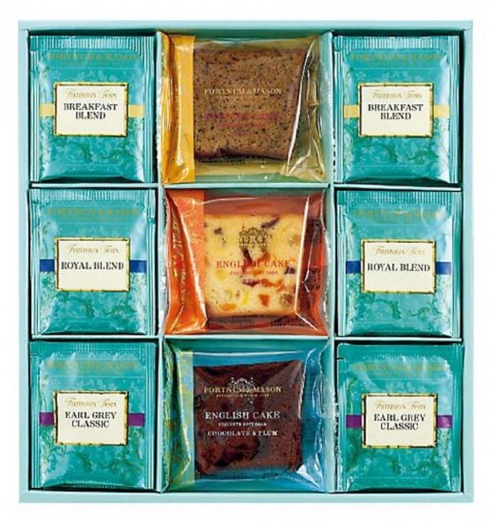 母の日の紅茶ギフトはフォートナム&メイソンのお菓子