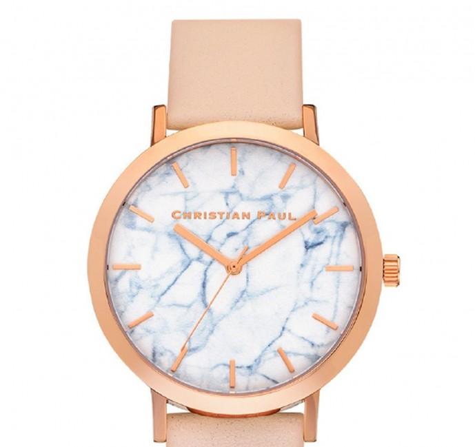 ホワイトデーで本命彼女にお返ししたいプレゼントにクリスチャンポールの時計