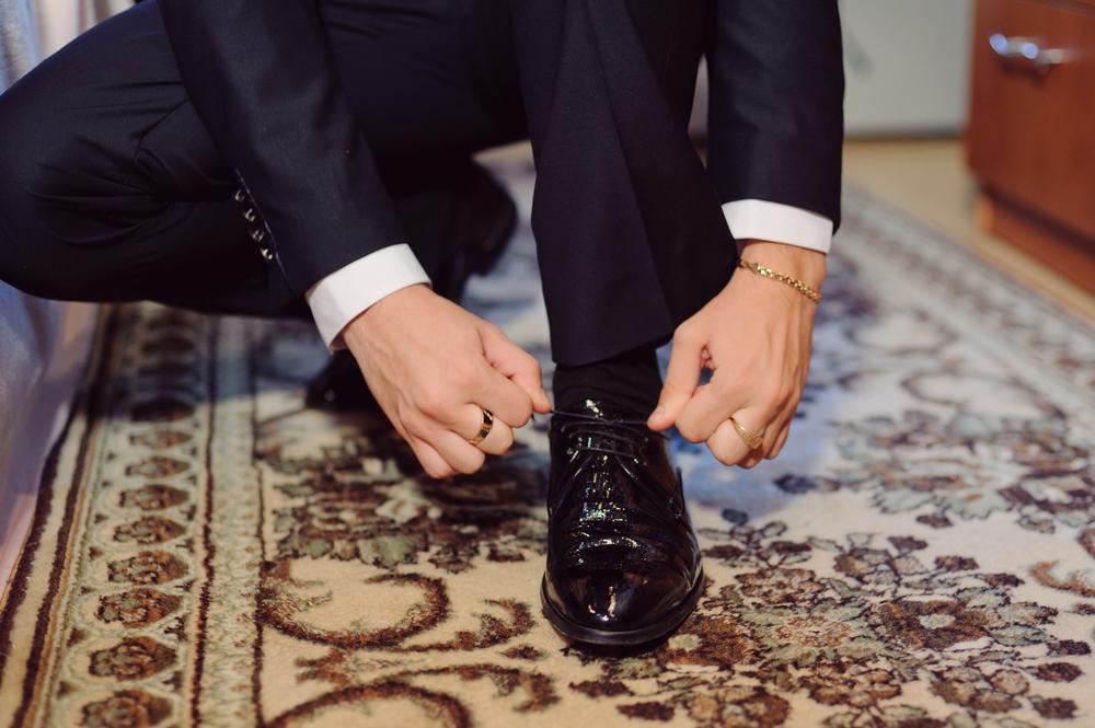 ビジネスマンの靴