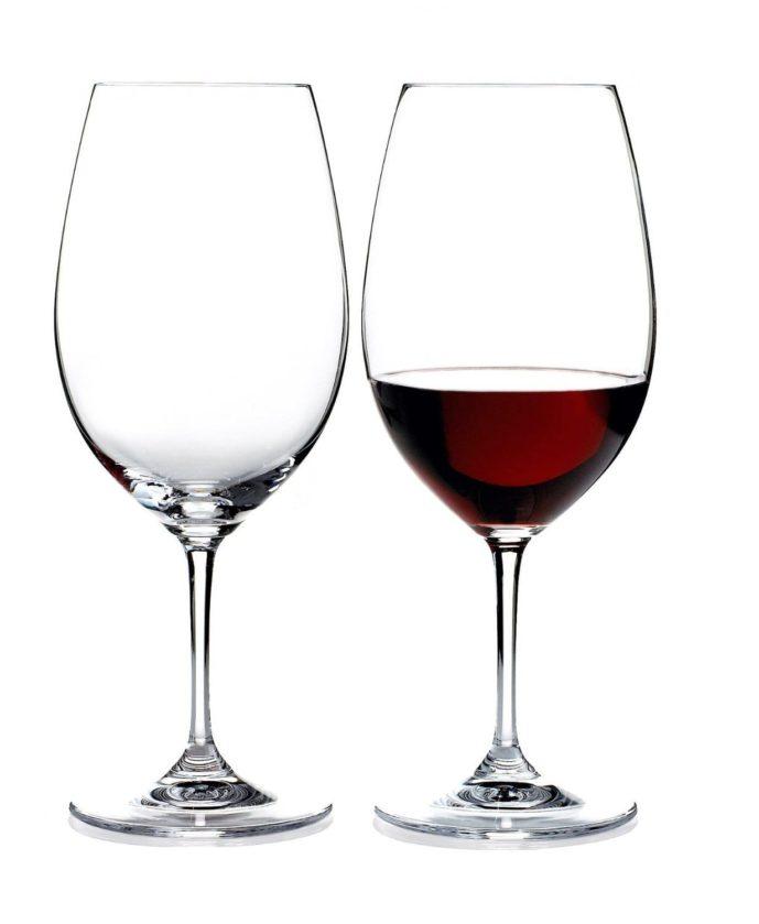 ワイングラスのプレゼントにリーデルのオヴァチュアのグラスjpg