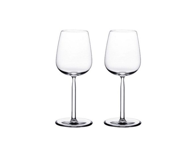 ワイングラスのプレゼントにイッタラのホワイトワイングラス