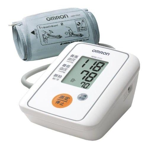 父の日の健康グッズプレゼントはオムロンの血圧計