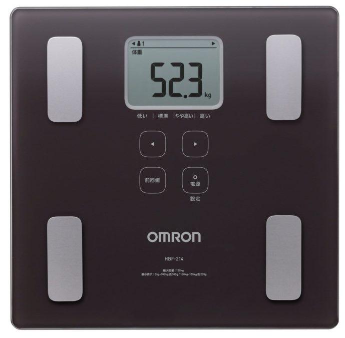 父の日の家電にオムロンの体重計
