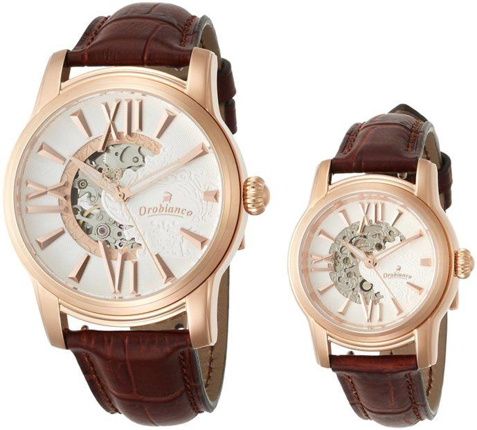 母の日と父の日のペアプレゼントはオロビアンコの時計