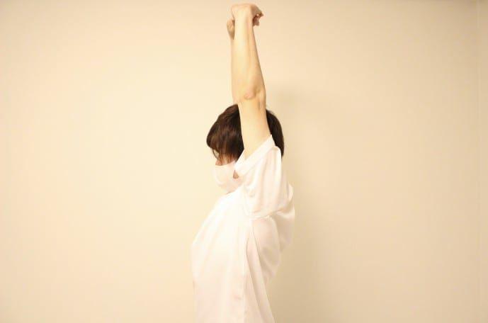 腹筋&腰の柔軟ストレッチ