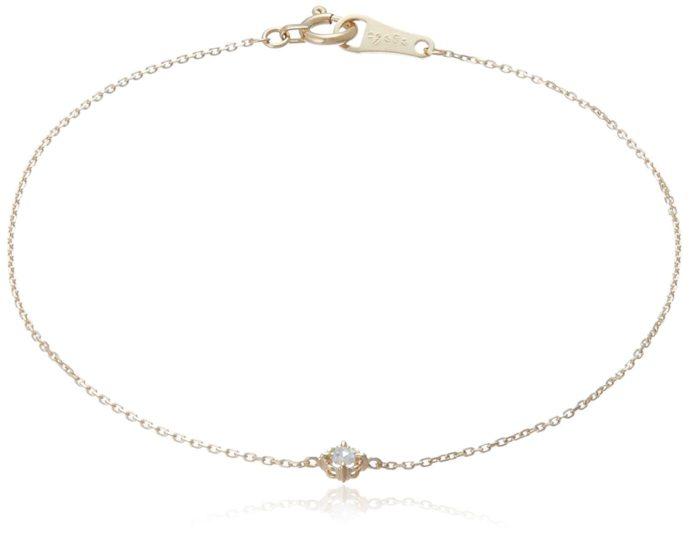 ホワイトデーに本命彼女にお返ししたいプレゼントにアガットのダイヤモンドブレスレット