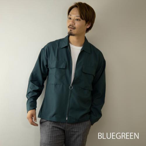 【単品売り可】 2020新作 シャツジャケット メンズ セットアップ対応 ビッグシルエット ワーク ミリタリー スイングトップ 36364