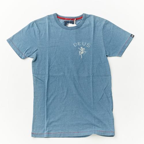 DEUS デウス Tシャツ DEUS(SS INDIGO LOGO T)