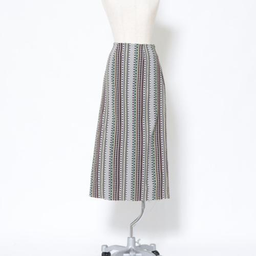 a-バティックジャガードタイトスカート