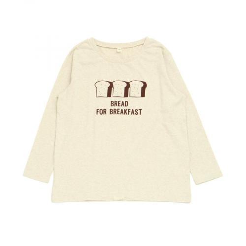 ママおにぎり&パンモチーフ長袖Tシャツ