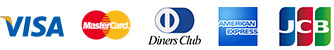 VISA MASTER Diners Club American Express JCB