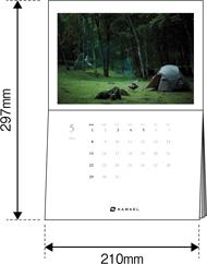 カレンダー仕様イメージ