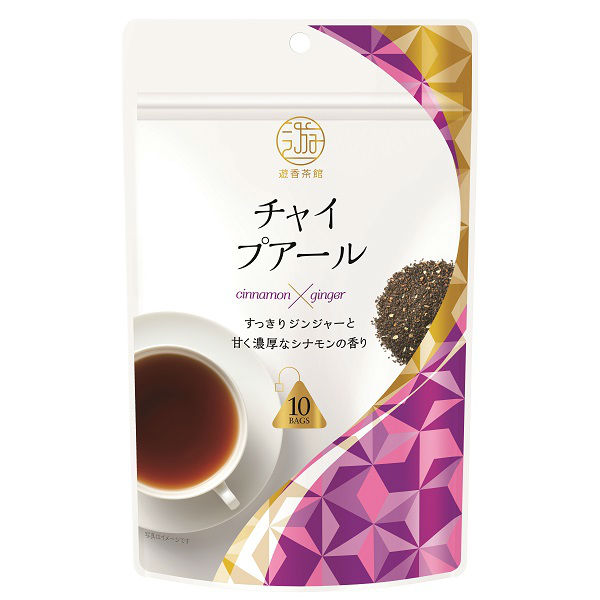 遊香茶館 チャイプアール 10袋入