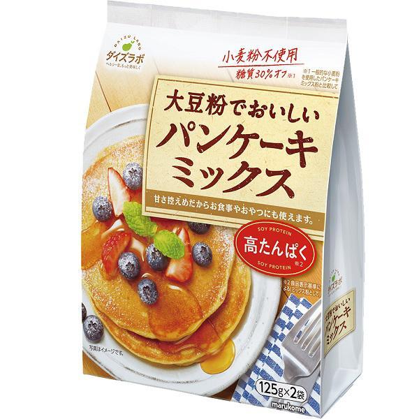 ダイズラボ 大豆粉でおいしいパンケーキミックス