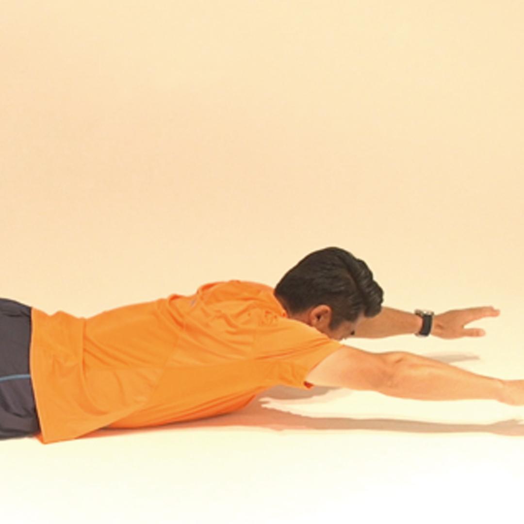 考えながら身体を動かそう!背筋運動
