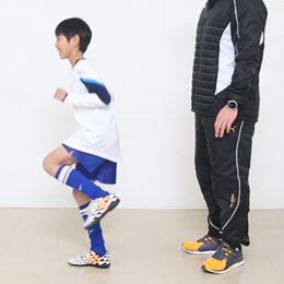 岡崎慎司選手も実践!片脚立ちでバランス力を養うトレーニング1