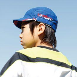 夏のマストアイテム「キャップ」はサッカージュニア専用が人気!