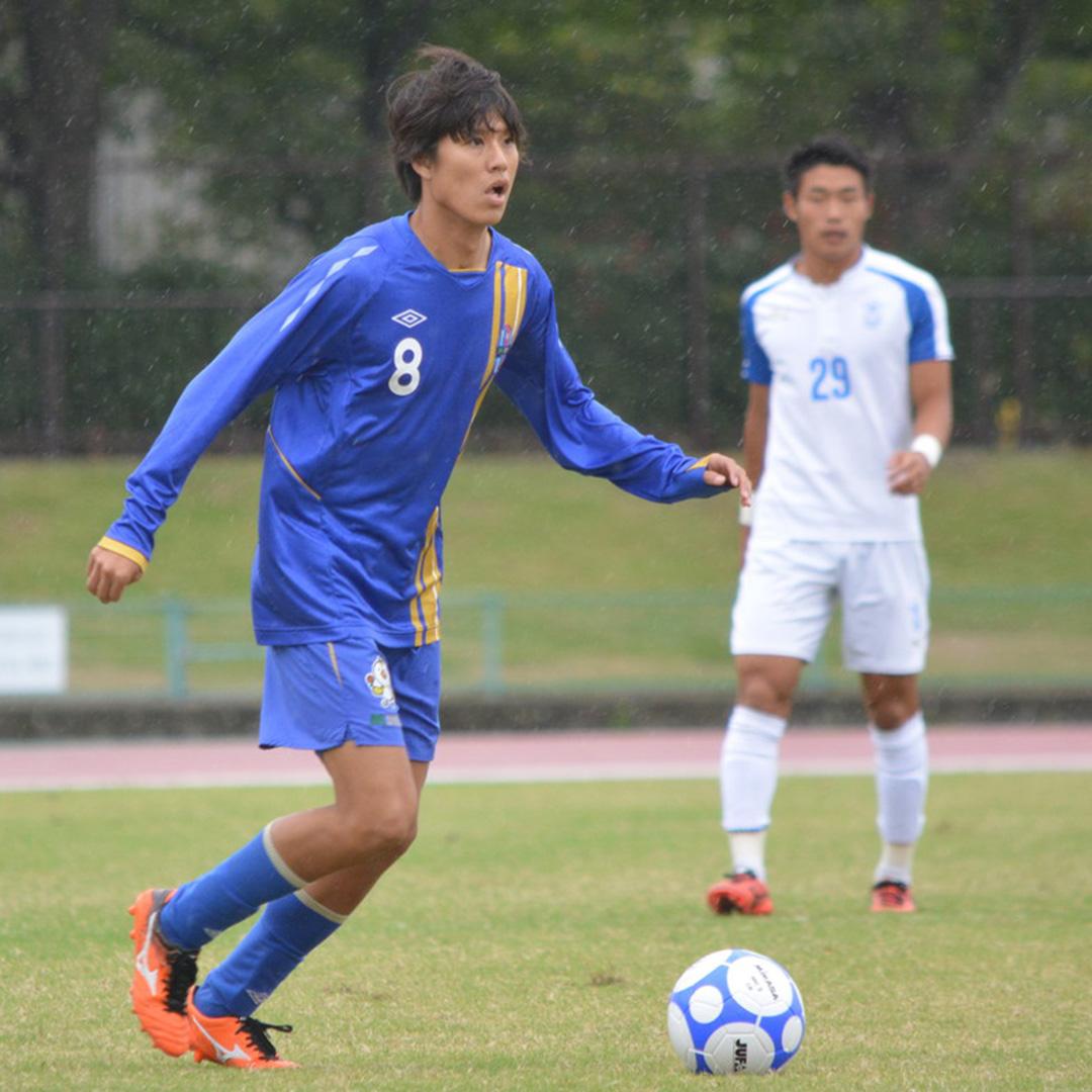 大学サッカーのすゝめ 重廣卓也(阪南大学)
